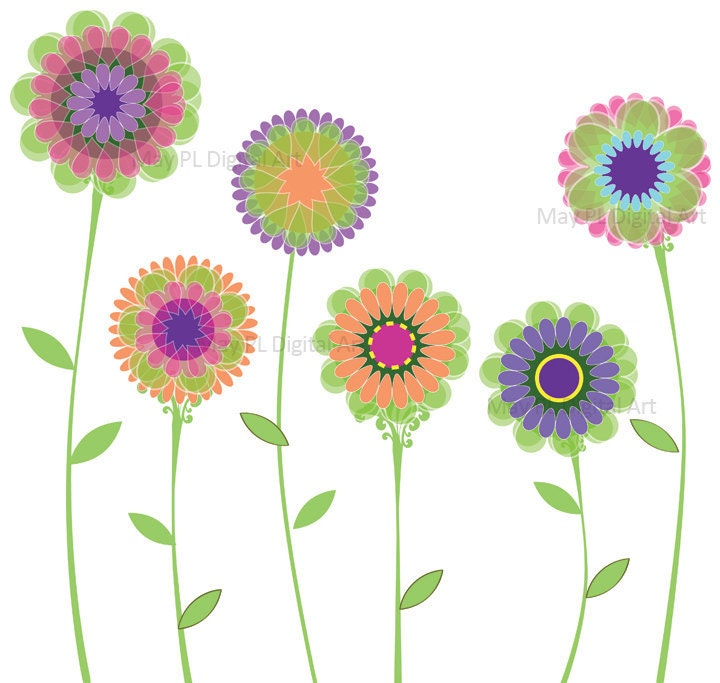 free spring flower bouquet clipart - photo #28