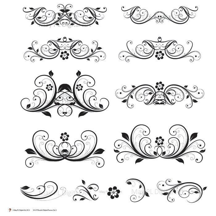 free wedding decorative clip art - photo #5