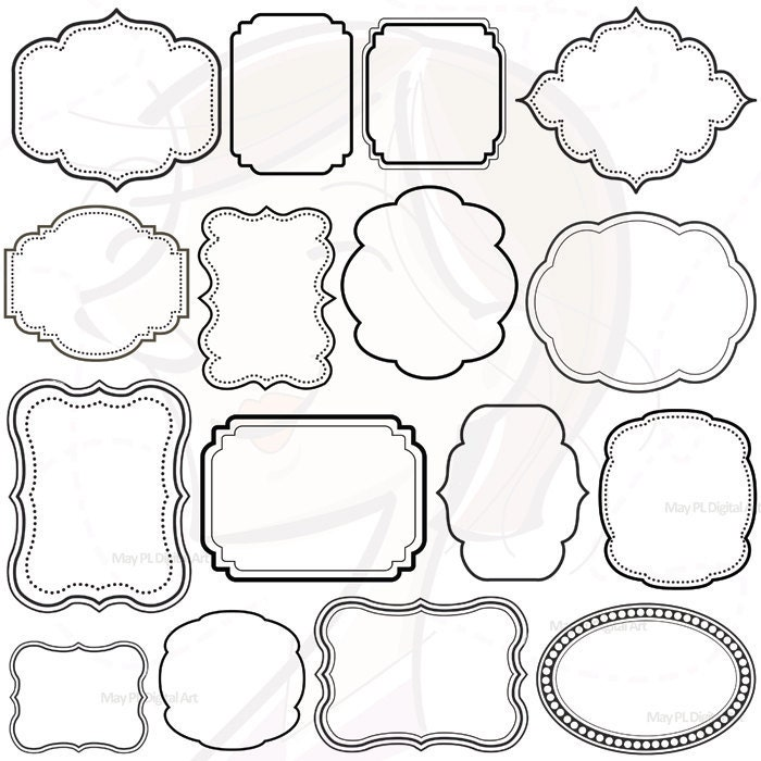 free clip art frame templates - photo #30