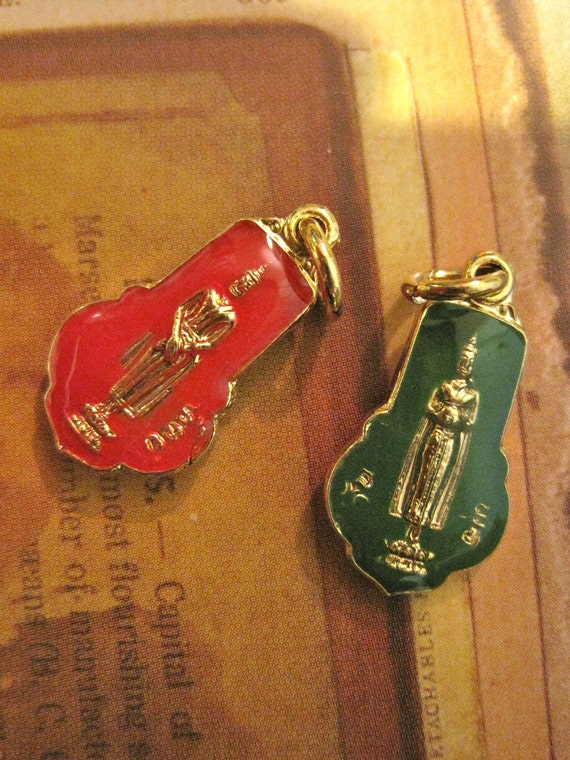 BUDDHA AMULET CHARMS Set of Two
