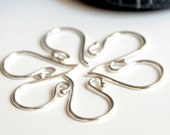 Sterling Silver Earwires - Ball End - 3 pairs (6 pcs)