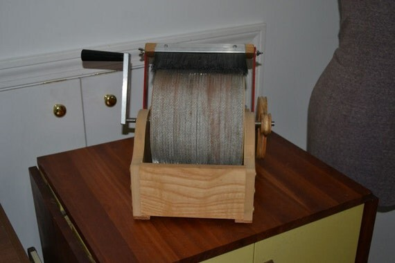 Reserved for Arlene Vasquez - Strauch Petite Drum Carder - USED - Like New Condition Price Adj (minus Deposit)