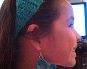 Crocheted Star Earring