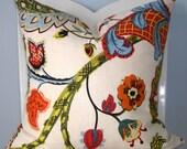 Wilmington Multi Decorative Pillow Cover 18 x 18
