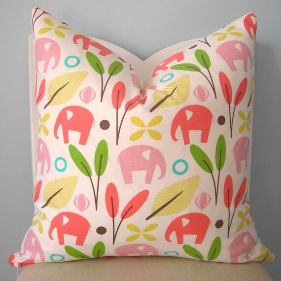 Dwell Studio Zooscape Decorative Pillow Cover 26 x 26 (RESERVED FOR JULIA)