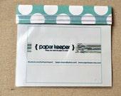 PaperKeeper Itty bitty  (teal dot)