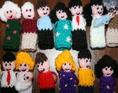 100 x People Finger Puppets FREE POSTAGE