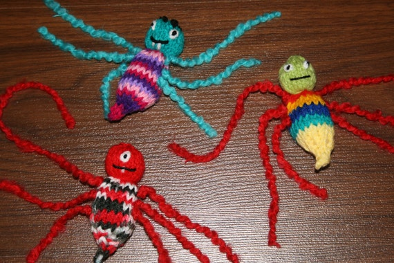 Hand Knitted Bed Bugs