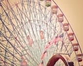 Texas State Fair - READY TO SHIP - Biggest Wheel in Texas - 8x10 photograph - fine art print - carnival artwork - nursery room print