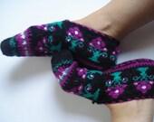 Slippers, Socks, Unique Socks, Knit Slippers, Handmade Socks, House Shoes, Slippers Socks, Women slippers, Adult slippers, Gift ideas
