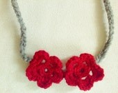 Cute Hair Accessories Red Gifts Headband Accessories crochet headband women accessories fashion acessories handmade