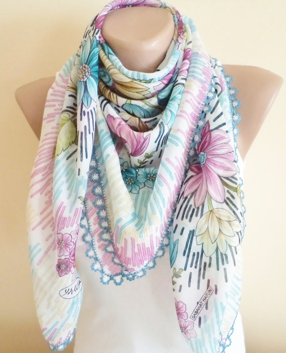 unique cheesecloth, beaded lace, stylish accessory,thin scarf women fashion