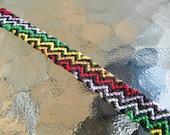 Rainbow Zig Zag Bracelet