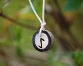 Birth Rune Pendant 'Eihwaz' 28th December to 13th January.