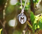 Birth Rune Pendant 'Ehwaz' 30th March to 14th April.