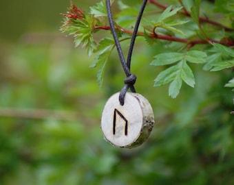 Birth Rune Pendant - 'Uruz' 14th July to 29th July.