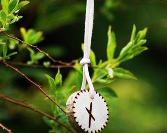 Birth Rune Pendant 'Nauthiz' 13th November to 28th November.