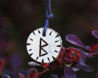 Birth Rune Pendant 'Berkano' 14th March to 30th March.