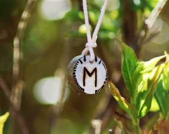 Birth Rune Pendant 'Ehwaz' 30th March to 14th April.