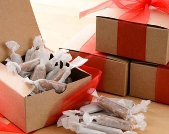 Assorted Honey Caramels 1/4 lb. Box (Etsy)