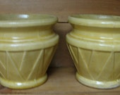 american made yellow pots