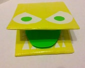 Angry Yellow Nom Nom Wallet
