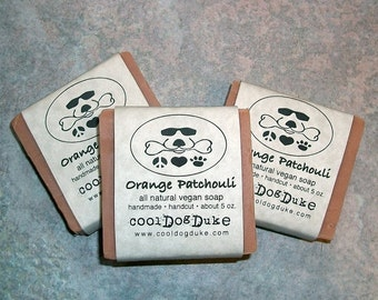 Lavender Patchouli Dog Soap Natural Flea Tick By Cooldogduke