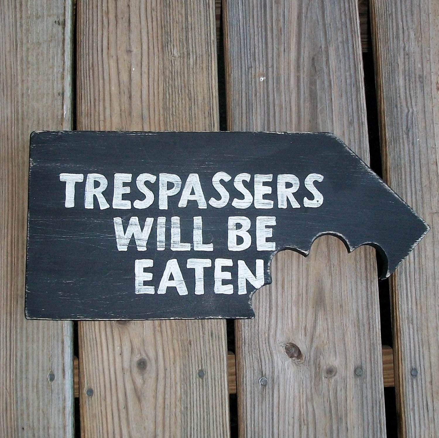 Man Cave Funny Signs : Man cave funny sign trespassers will be eaten no girls