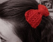 Once Upon a Time Hair Bows - Pair of Clip On Bows