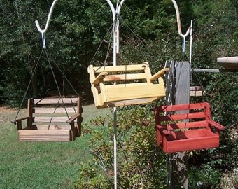 Porch swing feeder