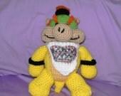 Bowser Jr. PDF Crochet Pattern by Crochet Universe Designs