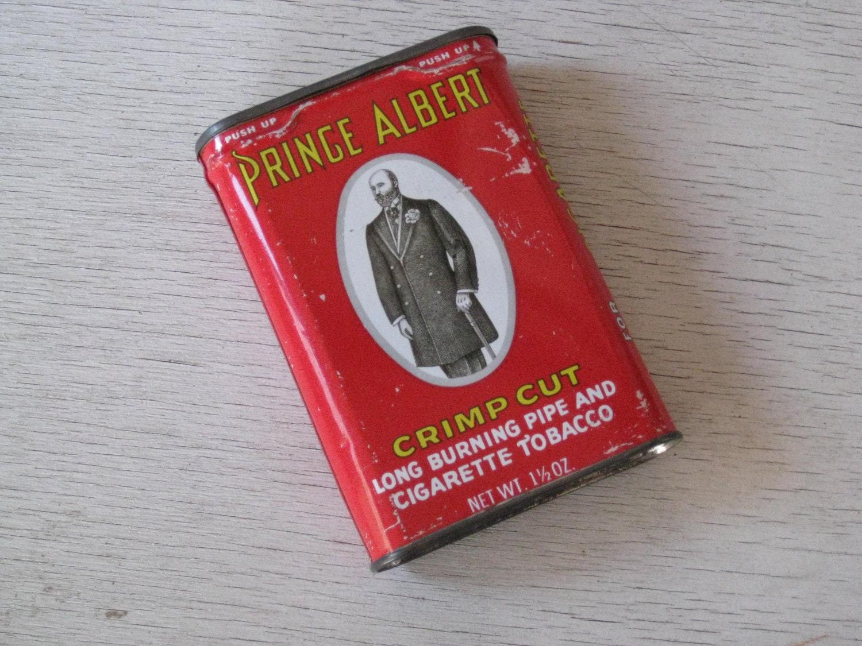 Antique Prince Albert Tobacco Tin Can