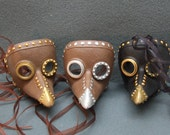 Steampunk Raven Mask