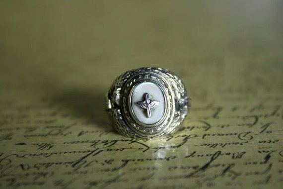 Antique Ww2 Air Corps Air Force Ring