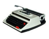 Revitalized Sears Model 1 Typewriter Professionally Refurbished Portable & Two New Ribbons