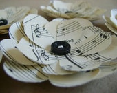 Musical Paper Flowers