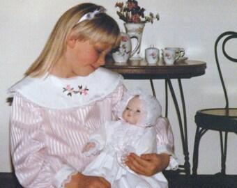 1987 Vintage Fancy Pink Easter Dress Size 6X