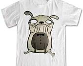 Mr.Pugsley Pug T-shirt Women Men Children in all sizes