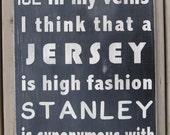 I Am A Hockey Fan Subway Style Word Art