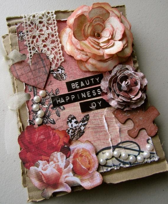 Girly Glam Handmade Mini Album