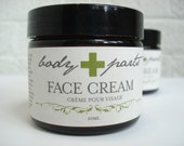 ALOE FACE CREAM - Organic - Nourishing & rejuvenating - Sensual Scent - Hydrating - For Men and Women - 60ml (2oz)
