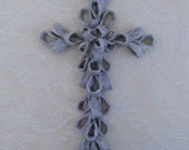 Wall Cross, Ceramic-like
