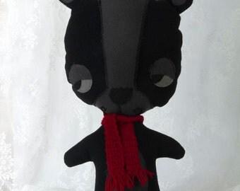 Black Stuffed Bear, Black Bear Plush, Black Bear Soft Toy, Black Bear Toy, kids Plush, Black Teddy Bear Toy, Stuffed Animal, Stuffed Bear
