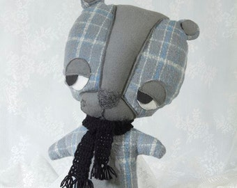 Stuffed Bear, Bear Plush, Bear Soft Toy, Grey Bear Toy, kids Plush, Teddy Bear Toy, Stuffed Animal, Stuffed Bear, Toy Bear, Cute Bear Toy