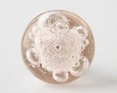 Bubble Glass Knob - Hush Pink