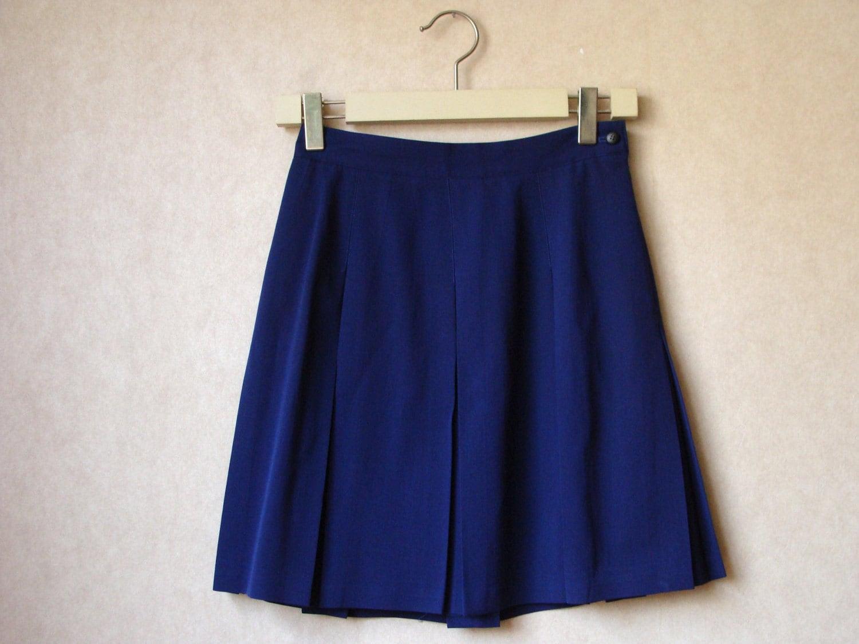 Navy Uniform Skirt 38
