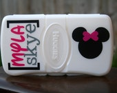 Minnie Mouse Personalized Wipes Case - Travel Size