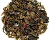 Raspberry Oolong Tea Custom Private Label Gold Foil Resealable Pouch Fresh
