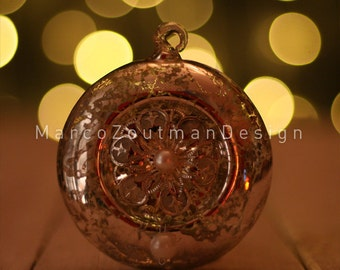 "Copper ornament - 8x8"" photography print"