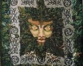 Greenman Tapestry 16x24